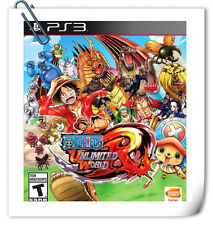 PS3 Playstation sony ONE PIECE UNLIMITED WORLD RED Action Bandai