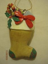 Children's Art Project (M.D. Anderson Cancer Center) Stocking Christmas Ornament