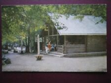POSTCARD HEREFORDSHIRE SYMONDS YAT - THE LOG CABIN