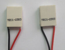 2pcs mini 15*20MM TEC1-02303 Thermoelectric Cooler Peltier Plate 2.8V 3A 4.8W