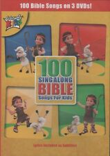 Cedarmont Kids 100 Singalong Bible Songs For Kids 3 DVD Set BRAND NEW & SEALED