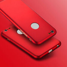 Hybrid 360° New Shockproof Case+Tempered Glass Cover For Apple iPhone 7 5s 6s