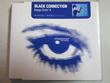"BLACK CONNECTION KEEP DOIN' IT ADVANCE PROMO CD SINGLE 7"" RADIO EDIT, MIX, DUB"