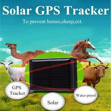 Latest Excelvan RF-V26 Mini Solar GPS/GSM Tracker Locator Animal Pet Waterproof
