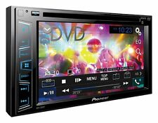 "PIONEER AVH 280BT 6.2"" Double DIN touchscreen CD DVD tuner Bluetooth USB Aux"