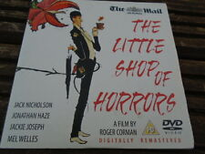 THE LITTLE SHOP OF HORRORS DVD from the Mail on Sunday, cert PG