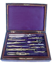 Antique Complete Set of Drawing Instruments