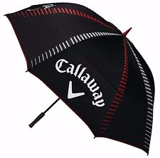 """NEW 2017"" CALLAWAY TOUR AUTHENTIC 68"" DOUBLE CANOPY GOLF TOUR UMBRELLA"