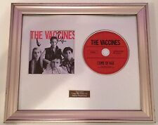 THE VACCINES - COME OF AGE PERSONALLY SIGNED/AUTOGRAPHED FRAMED PRESENTATION