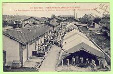 cpa RARE TROYES (Aube) Grande Manoeuvre militaire 1905 La BOULANGERIE de GUERRE