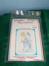NEW CRAFTER'S PRIDE CROSS STITCH SWITCHPLATE COVER GUARDIAN ANGEL
