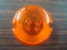 AMBER TURN SIGNAL LENS FOR HARLEY SPORTSTER XL FXD FXR 86-01 & FXST 86-99