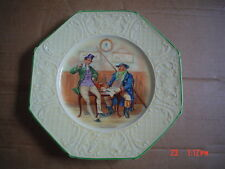 Wedgwood Collectors Plate THE TWO WELLERS Octagonal Circa 1930'S