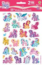 2 Sheets My Little Pony Horse Rainbow Stickers Party Favors Teacher Supply