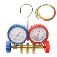 Air Condition AC Diagnostic Tool Refrigeration  A/C Manifold Gauge For R134A R12
