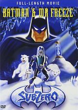 BATMAN & MR FREEZE : SUBZERO animation -  DVD - UK Compatible - New & sealed