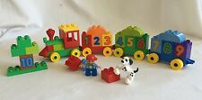 Lego Duplo 10558 Number Train Complete 32pc