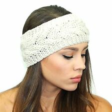 Kristin Perry Knitted Sweater Headband Winter Hair Accessories