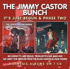 Jimmy Castor Bunch, - It's Just Begun/Phase Two [New CD] UK - Import