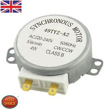 CW/CCW Turntable Microwave Oven Synchronous Motor AC 220-240V 5/6RPM 4W Uomtj