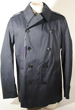 Ralph Lauren Purple Label Dark Plum 4 Button Coat Italy Size XXL $2495 E1D