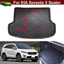 Car Boot Cargo Mat Trunk Liner Tray Floor Mat For KIA Sorento 5 Seater 2013-2017