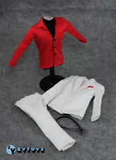 "ZY Toys 1/6 Scale Clothes Red Shirt  ONLY - Fit 12"" Action Male Figure"