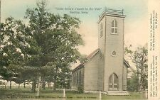 c1907 Hand-Colored Postcard Little Brown Church in the Vale, Nashua IA Chickasaw