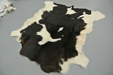 Cowhide calf cow skin rug fur taxidermy pelt skin soft luxury decor 100% real