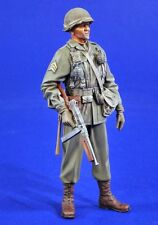 Verlinden 120mm (1/16) US Army Sergeant with Thompson in ETO Europe WWII 2793