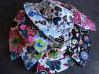 New Kids Girls Boys Cloche Cotton Summer Hat Floral Bucket Beach Bell Sun Cap