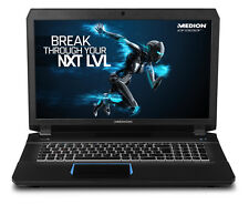 "Medion Erazer X7843 17.3"" Gaming Laptop, i7-6700HQ 16GB 256GB+1TB 980M 30020519"
