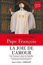 la joie de l'amour   sur l'amour dans la famille Pape Francois Neuf Livre
