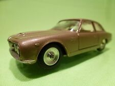 SOLIDO 125 ALFA ROMEO 2600 first edition - METALLIC BROWN 1:43 - NEAR MINT