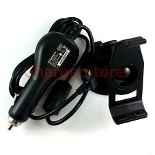Original Garmin Nuvi 200/200W/205/205W/250/250W GPS car charger + mount holder