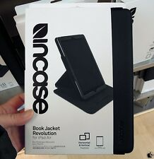 Incase Book Jacket Revolution Leather Folio Stand Case for iPad Air 1G BLACK