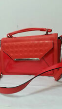 Mimco Leather ORIGAMI Satchel Hand Bag BNWT RRP $450 Poppy