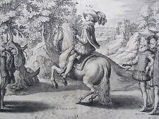 Pluvinel Horsemanship Horse Louis XIII France de Passe Merian Plate 27 - 1640