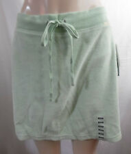 NYL LIGHT ELASTIC WAIST DRAWSTRING GREEN SKIRT SHORTS W/ SKIRT ATTACHED M / L