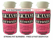 RASPBERRY KETONES FAT BURNER VERY STRONG SLIMMING WEIGHT LOSS DIET PILLS BID.91