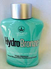 Hempz HydroBronze Triple Whipped Bronzer Tanning Bed Lotion Supre Tan