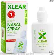 NEW XLEAR INC XCLEAR XYLITOL SALINE NASAL SPRAY FAST RELIEF DAILY SINUS CARE