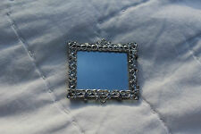 Mid- 1900's ANTIQUE GERMAN DOLLHOUSE MIRROR or TRAY W Germany for MINIATURE DOLL