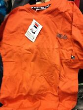 FILA SHORT SLEEVE  BJ  MIDWEIGHT  VINTAGE  40/42 INCH   ORANGE AT £8