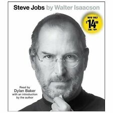 Steve Jobs by Walter Isaacson (2013, CD, Abridged)