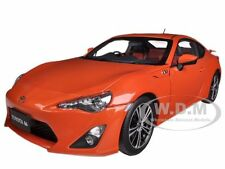 TOYOTA 86 GT LIMITED ASIAN VERSION RHD ORANGE METALLIC 1/18 BY AUTOART 78771