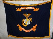 flag51 USMC Flag WW1 6th Regiment Marine Corps Belleau Wood