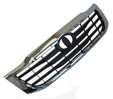 Chrome & Matt Black front Grille Toyota Hilux Mk7 Vigo champ 2012 D4D invincible