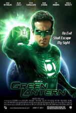 GREEN LANTERN Movie POSTER 27x40 C Ryan Reynolds Blake Lively Peter Sarsgaard