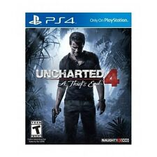 Uncharted 4 A Thiefs End PlayStation 4 Action Adventure Teen Pre-Order 5-10-2016